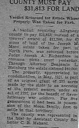 Allegheny County Condemned Property