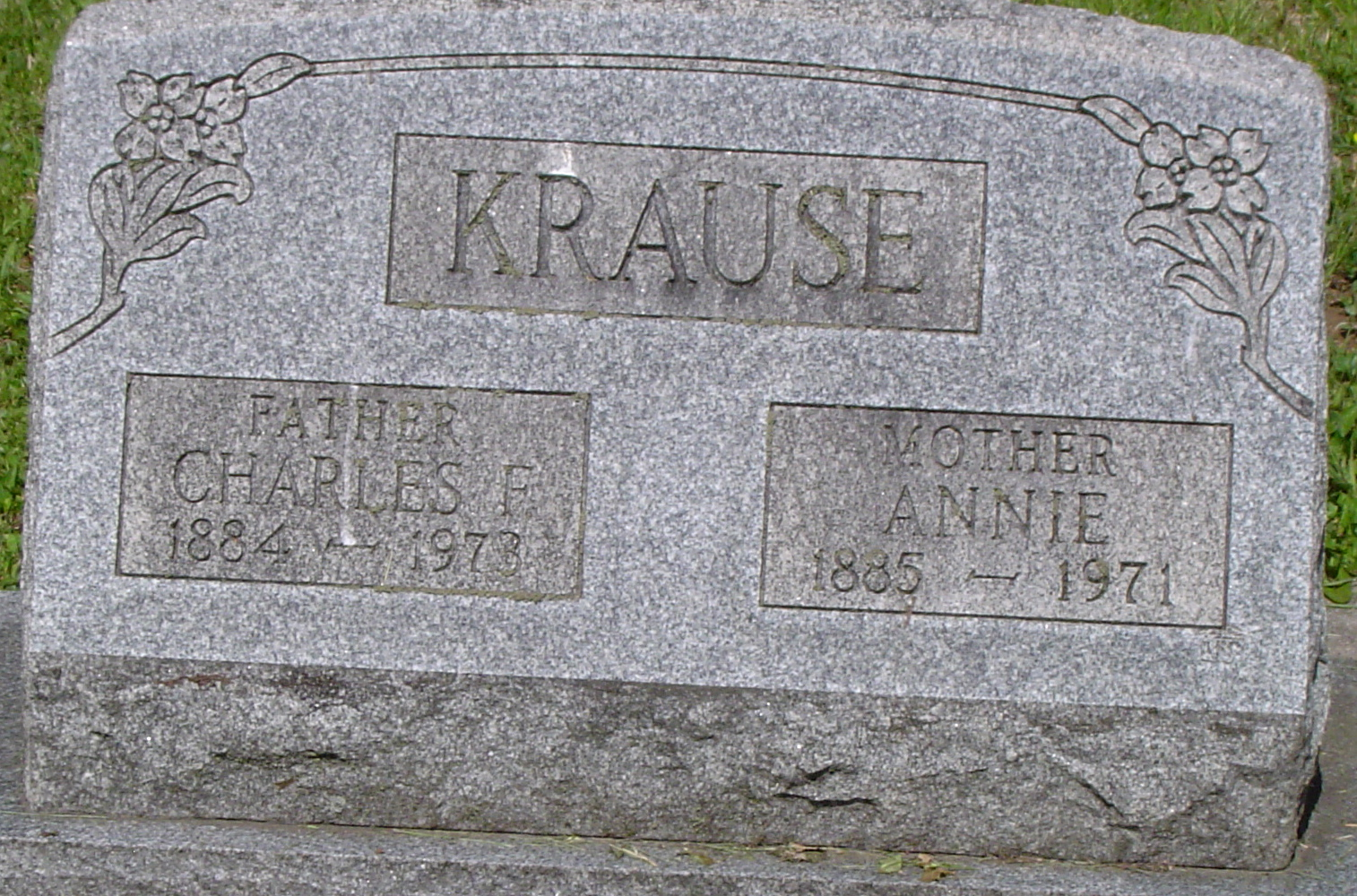 Charles & Annie Krause Lutheran Cemetery Jennerstown, PA