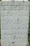 Ambrose Austen stone, Jeromesville, OH