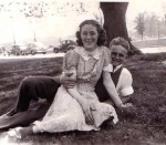 Hilda Krause & Dick Miller c. 1942