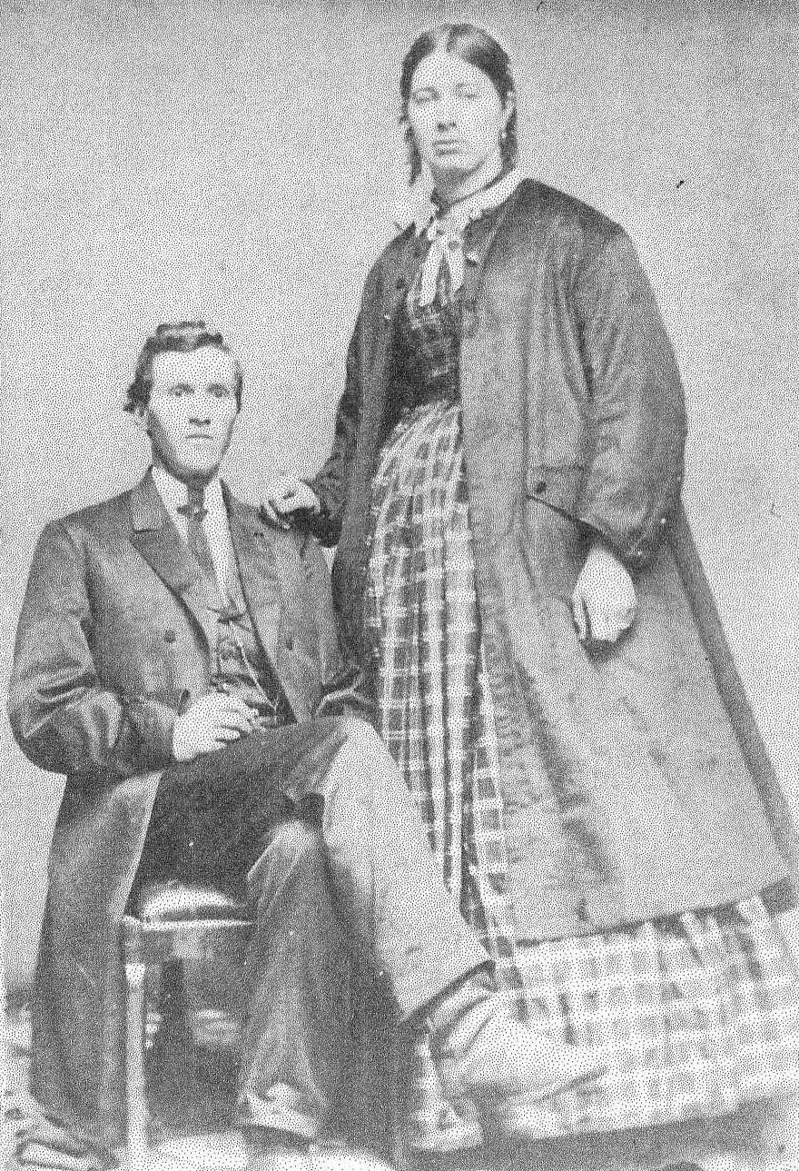 Samuel A. & Margaret Gray (c. 1870)