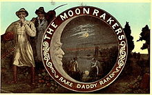 Commemorative Moonrakers postcard (1903)
