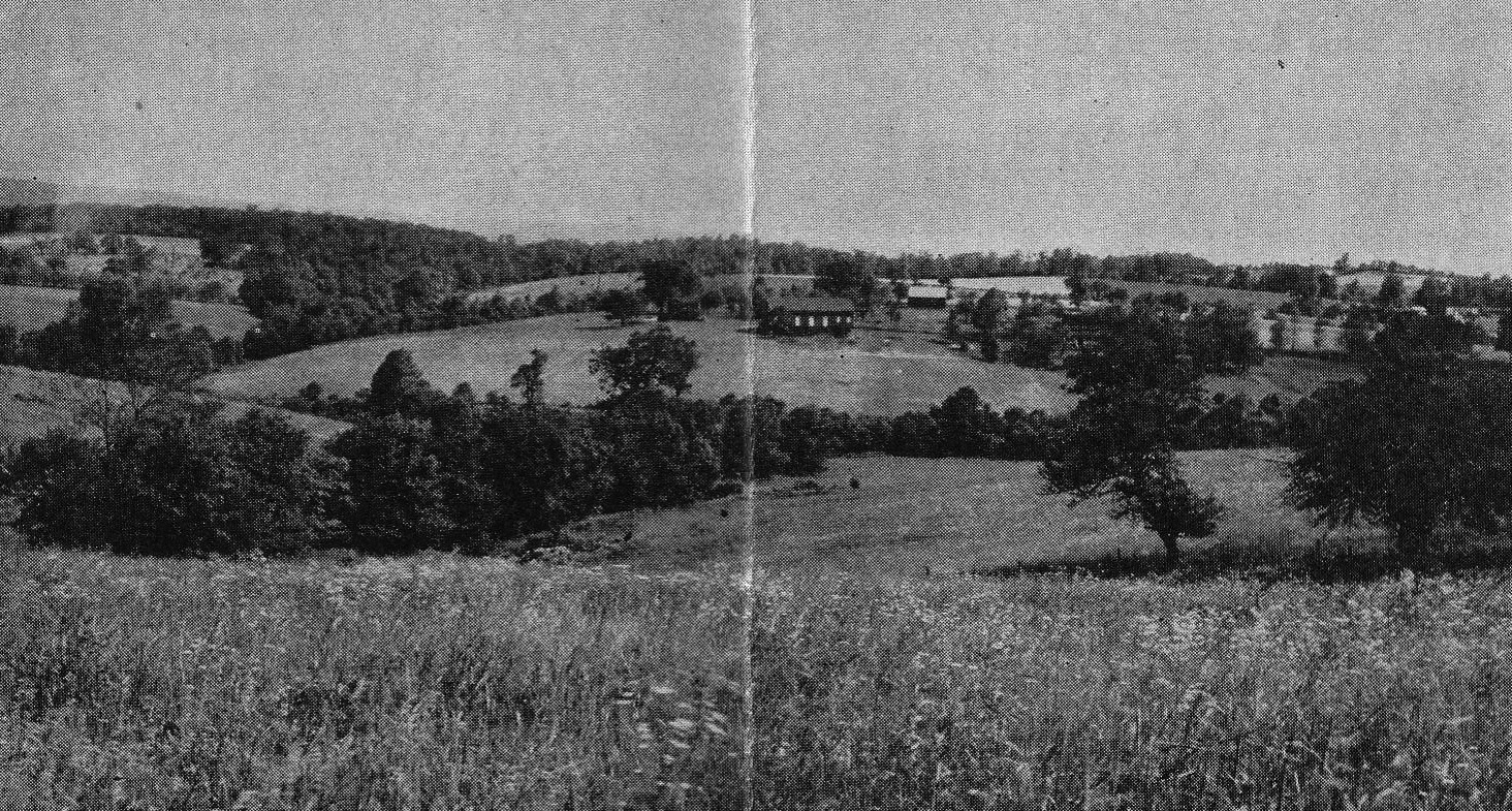 Pine Springs Camp (northward 1950) from Jennerstown, PA
