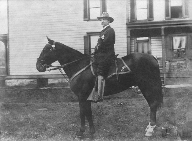 "Lemon Grimes (c.1900) ""Black Horse Squadron"" Pittsburgh Police Dept."